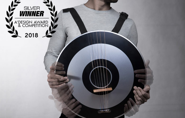 Mohamad Montazeri won a Silver prize in A'Design Award and Competition for DrumString