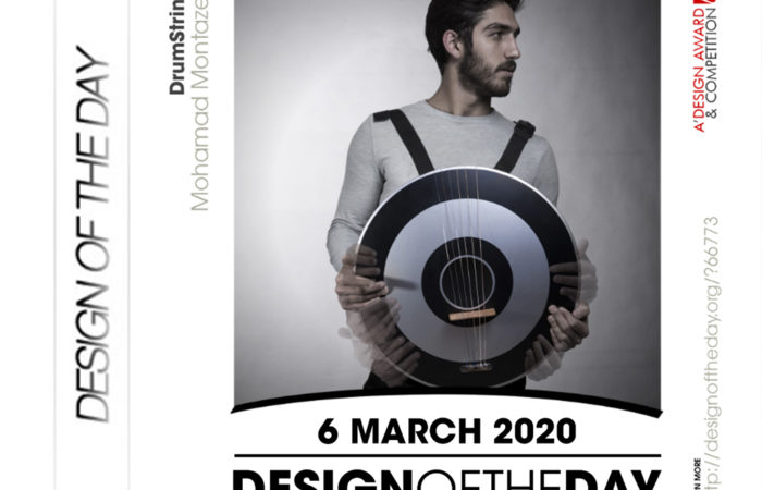 DESIGN OF THE DAY/ DrumString/ 6th March 2020
