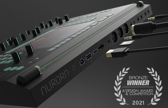 """MOHAMAD MONTAZERI WON A BRONZE PRIZE IN A' DESIGN AWARD AND COMPETITION FOR """"AURORA"""""""