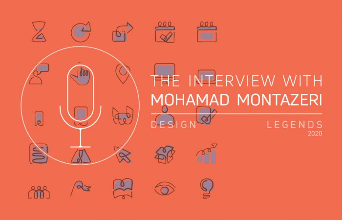 THE DESIGNE LEGENDS HAD AN INTERVIEW WITH MOHAMAD MONTAZERI