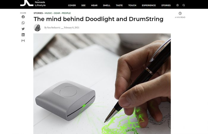 """AN INTERVIEW WITH MOHAMAD MONTAZERI, """"THE MIND BEHIND DOODLIGHT AND DRUMSTRING"""""""